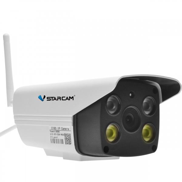 C18S 1080p IP66 siréna+světlo